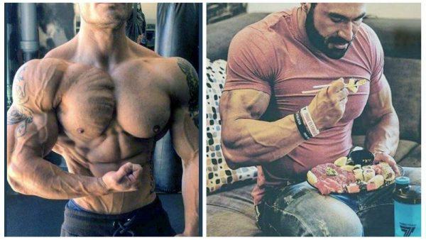 как остаться сухим при наборе мышц