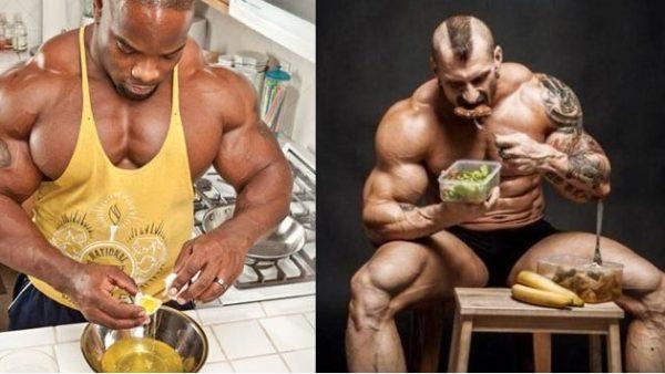 Как питаться для набора мышц